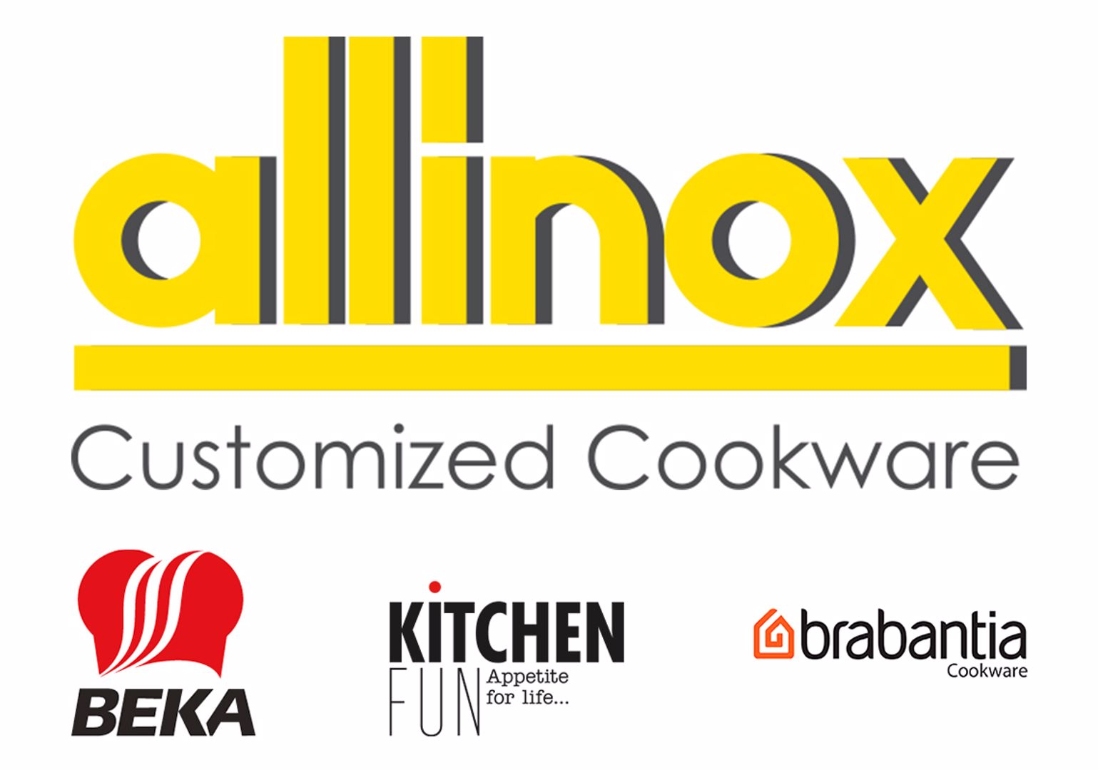 logo allinox and  brands