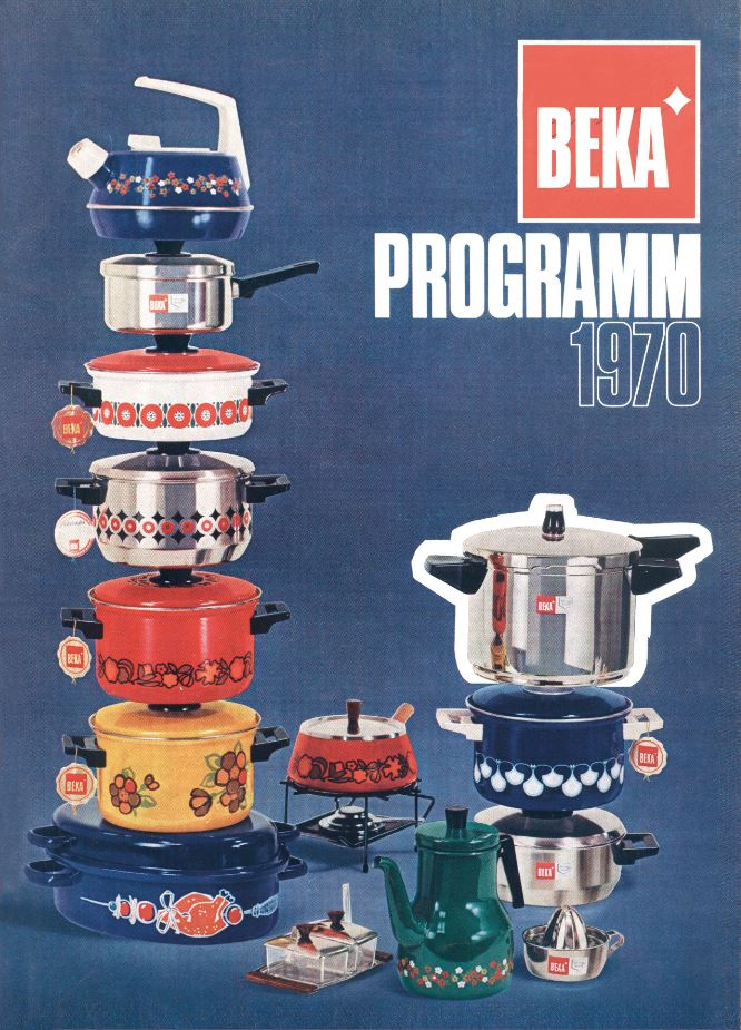 Ad for BEKA Cookware 1970